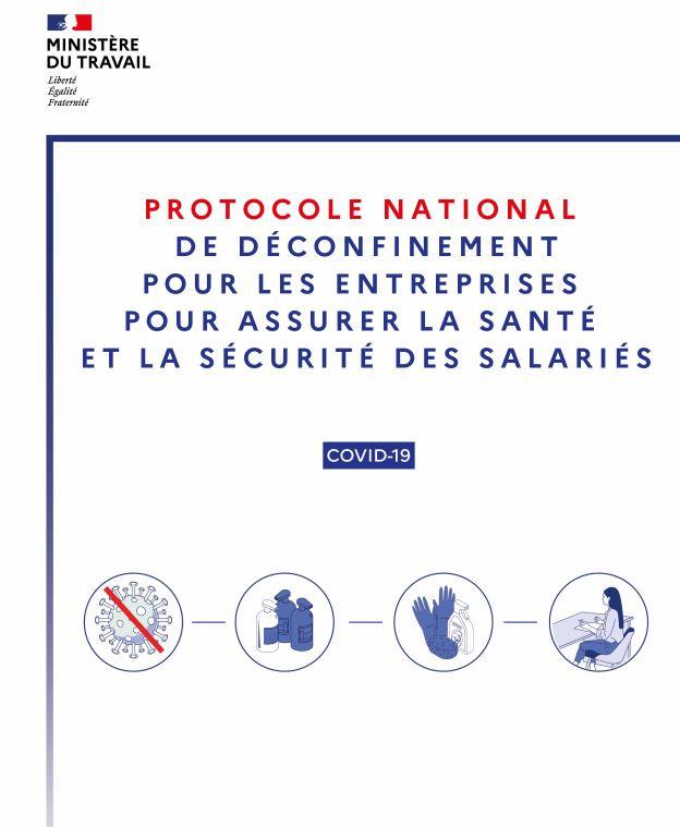 Protocole national de déconfinement pour assurer la sécurité et la santé des salariés