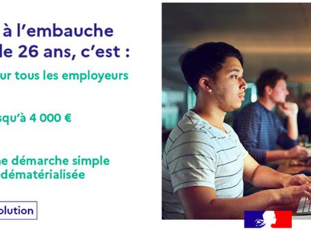 Aide à l'embauche des jeunes