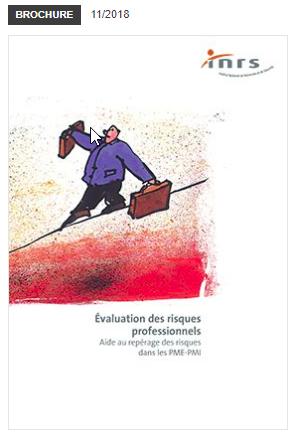 Évaluation des risques professionnels Aide au repérage des risques dans les PME-PMI