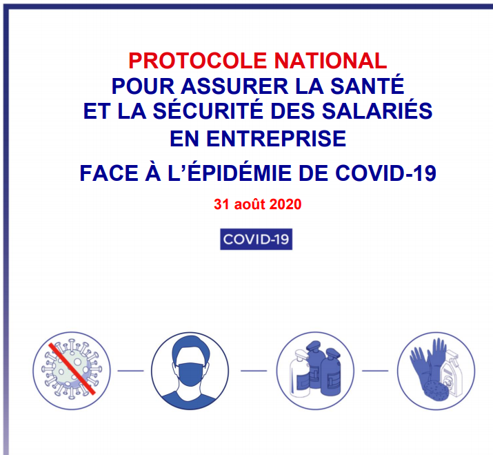 protocole sanitaire national covid19 salarie