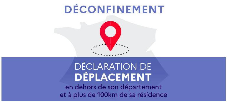 Modèle de la déclaration obligatoire déplacements professionnels de plus de 100km