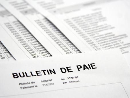 Conditions dématérialisation bulletin de paie 2017