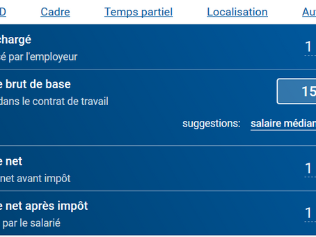 Coût salarial : mise à disposition d'un estimateur par l'Urssaf