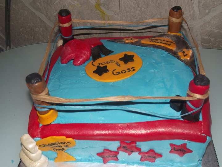boxing_ring cake