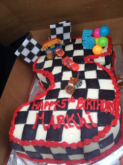 cars #5 cake