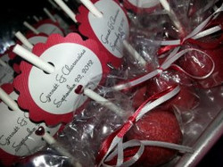 personalized_cake_pops for wedding
