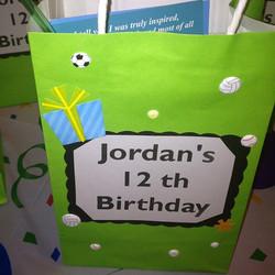 12th birthday sports bags