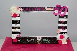 custom party photo frame
