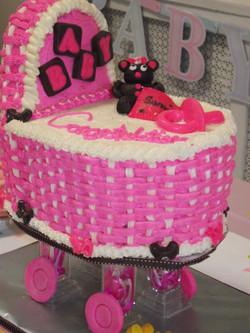 bassinet cake