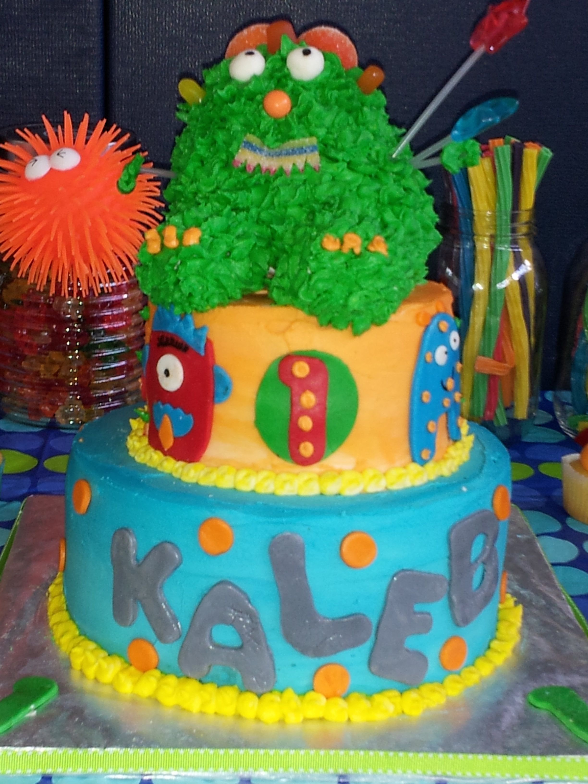 Monter cake