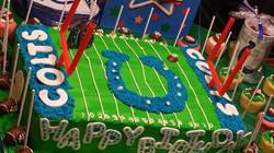 colts football cake