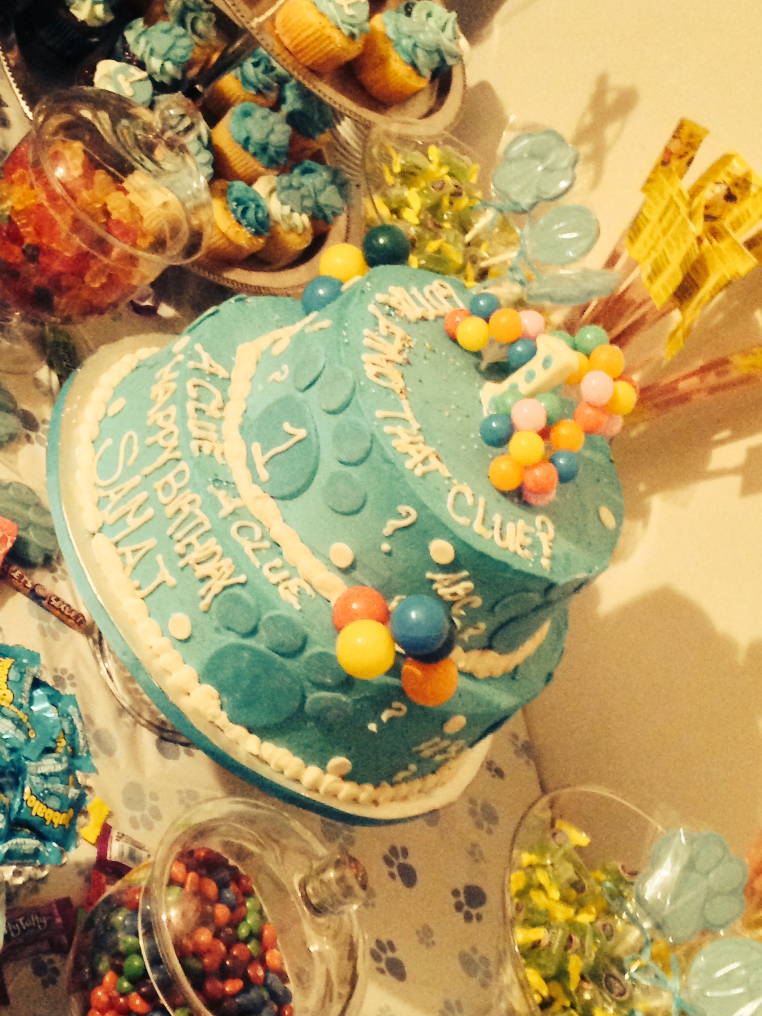 blues clues cake