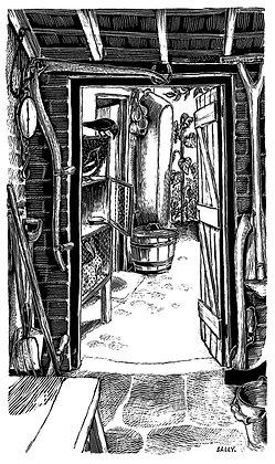 'Tin Bath' print