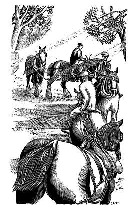 'Horse Fair' print