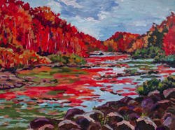 Heather Nagy - Fall Colors on the River