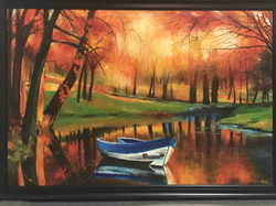 Anu Krishnan - Morning Sun by the Lake