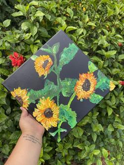 Eliabel Figueroa Soler - Sunflowers in Bloom