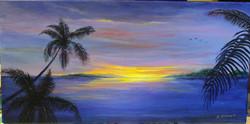 Nancy Chenet - Purple Sunset