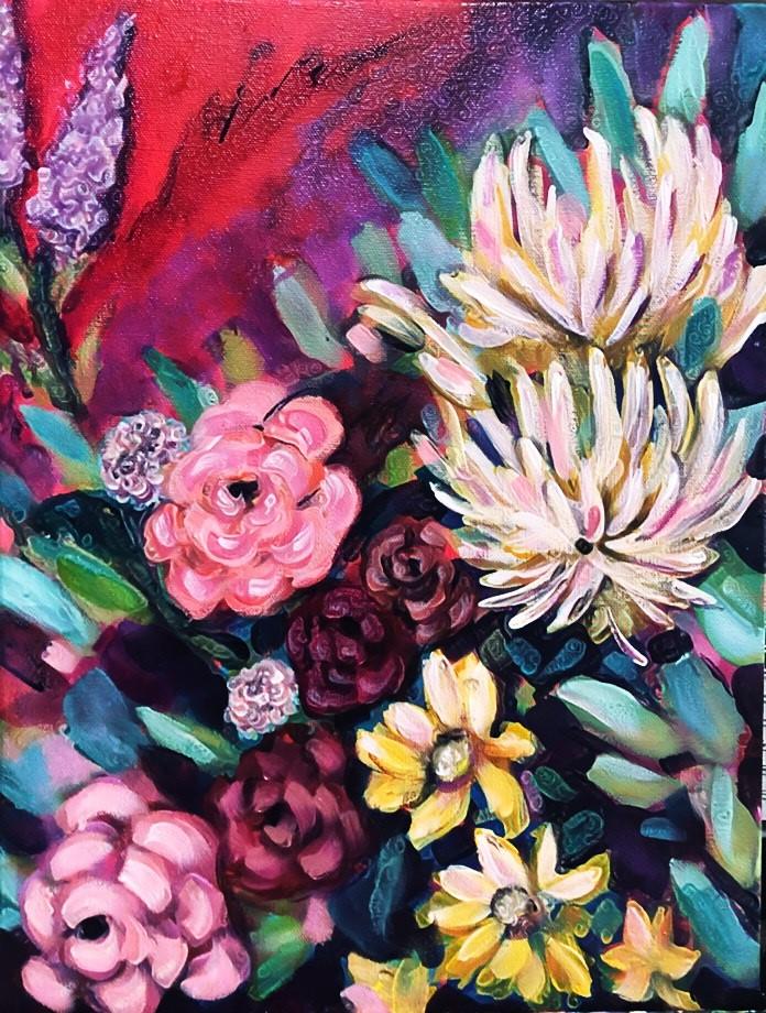Marisela Rodriguez - Flowers in Bloom