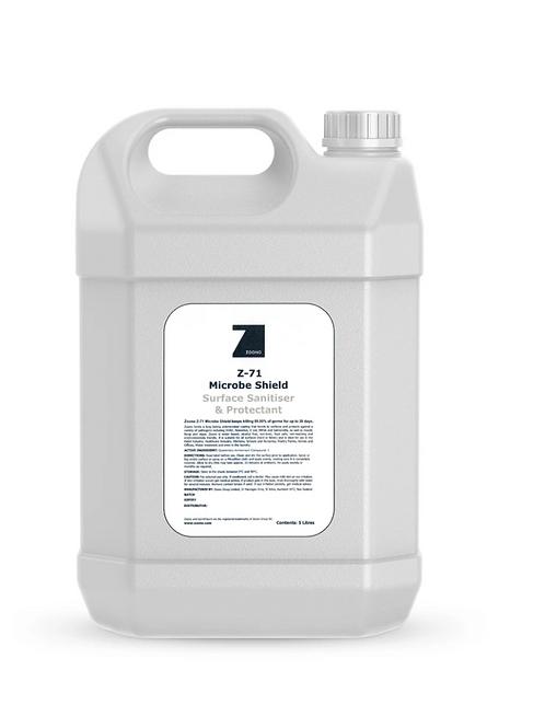 Microbe Shield Surface Sanitiser Bulk 5L (Z71) - Refill