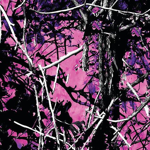 Pink Country Camo Vinyl