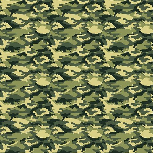Green Camo Vinyl