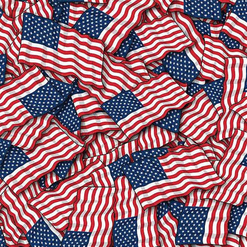 Flag Wavy American Vinyl