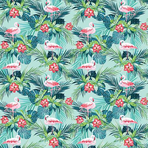 Hybiscus Flamingo Craft Vinyl