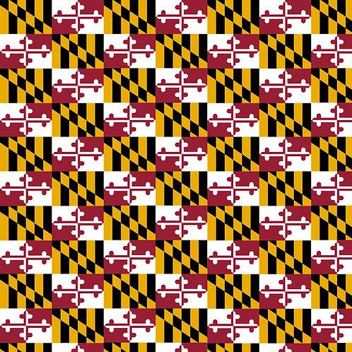 Maryland Flag Vinyl