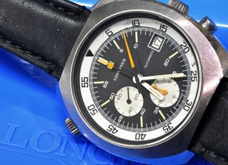 Longines 9802 chronograph automatic Lemania 1341
