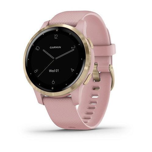 vívoactive® 4S Light Gold avec bracelet silicone rose NUMÉRO DE RÉFÉRENCE 010-02