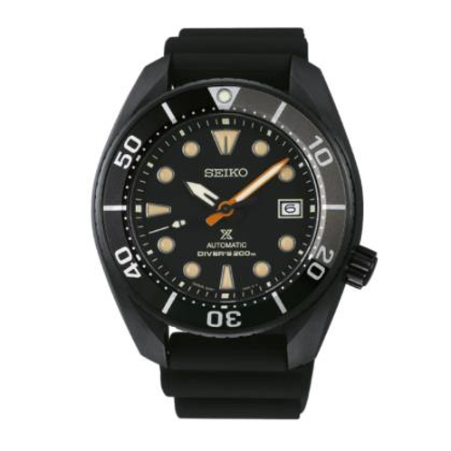 Seiko  PROSPEX Black Series ~ Automatique Diver's 200M SPB125J1
