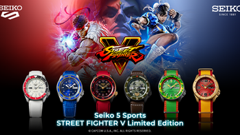 Seiko 5 Sport STREET FIGHTER V