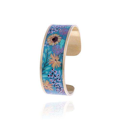 Bracelet Tournesol fleurs Ref. MOF2208