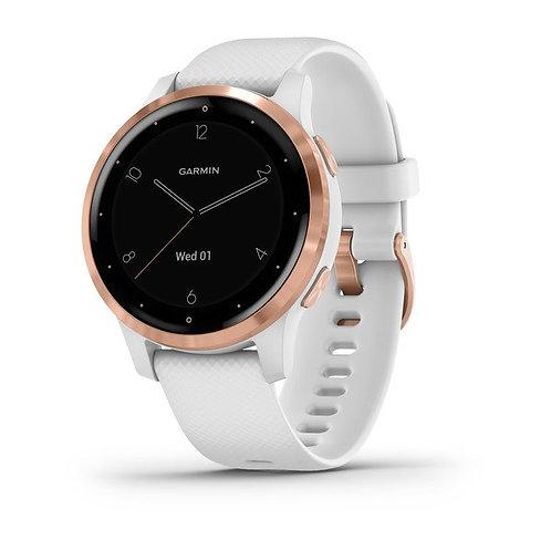vívoactive® 4S Rose Gold avec bracelet silicone blanc NUMÉRO DE RÉFÉRENCE 010-02