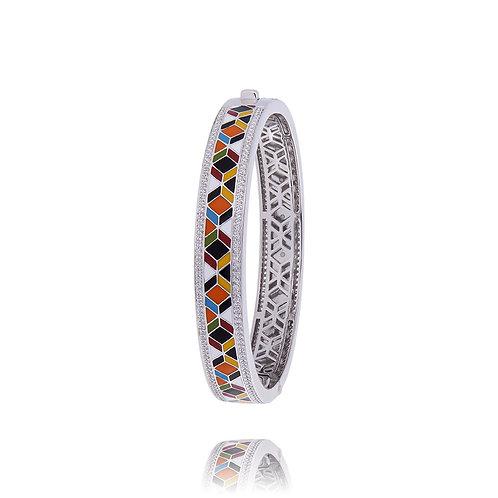 Bracelet argent jonc Una Storia Siena Ref. JO121193