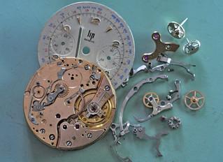 Chronographe Lip Genève Valjoux 23