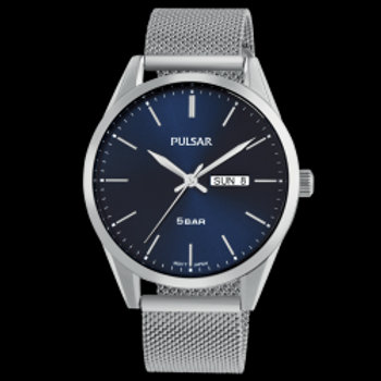 Pulsar Montre Homme Tradition Maille Milanaise