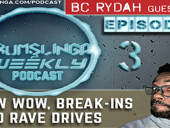 Drumslinga Weekly Podcast Ep. 3