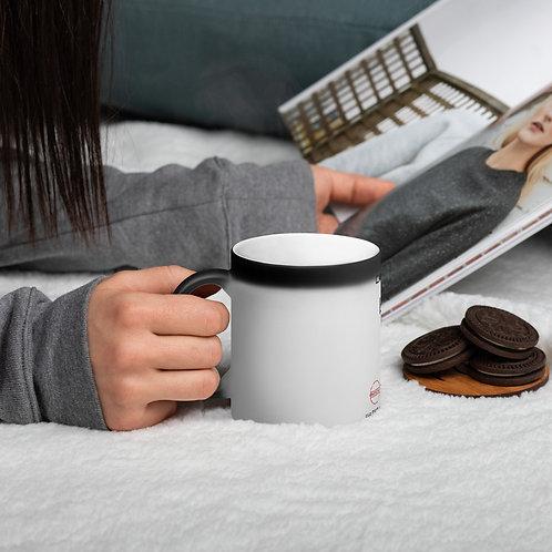 Drumslinga Morning Joe Matte Black Magic Mug