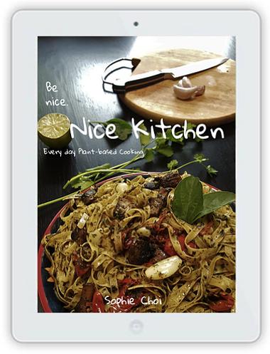 Nice Kitchen _ Plant based cookbook _ So