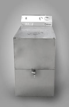 UDP - Unità di dosaggio prodotto Erretre con vasca in acciaio inox per l'iniezione di prodotti chimici con metodo brevettato Chemical Milling®.