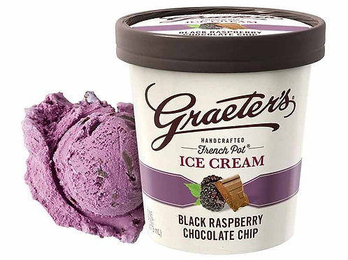 GRAETER'S BLACK RASPBERRY CHIP - 6 PACK