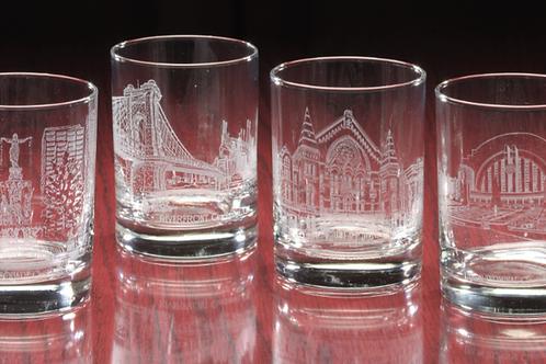 CINCY BOURBON GLASSES