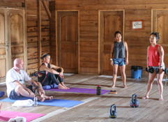 Afternoon workshop on using strength training to inform your yoga practice