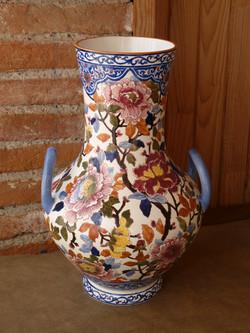 Vase de Gien restauré.