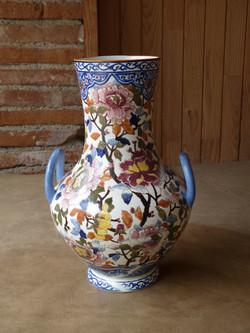 Vase en faïence de Gien