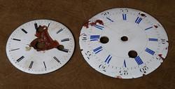 Cadran d'horloge à restaurer.
