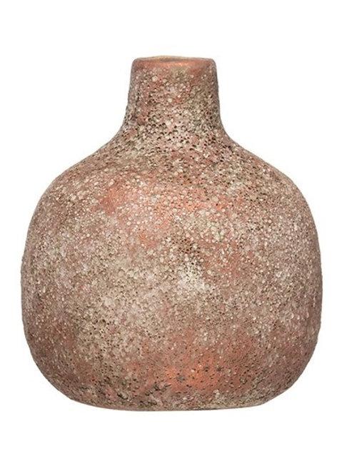 Round Terra-cotta Vase
