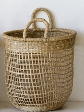 MD Woven Natural Seagrass Basket